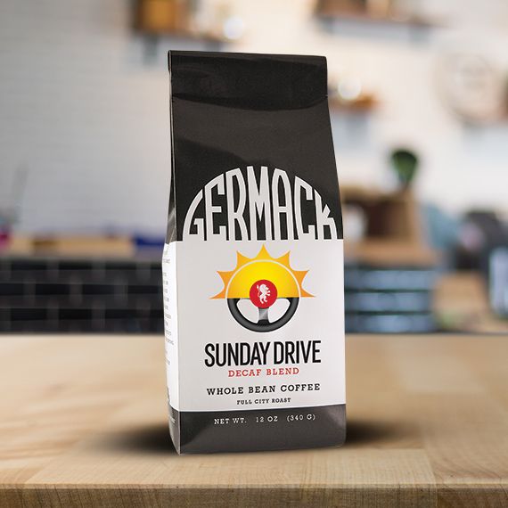 Germack Coffee Blend (12 oz.) - Sunday Drive Decaf (C8)