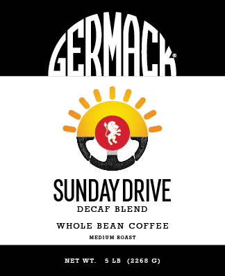 Germack Coffee Blend (5 LB.) - Sunday Drive Decaf
