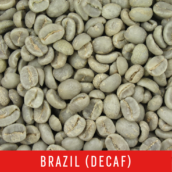 Green Coffee Beans: Brazil (DECAF) - 1 LB