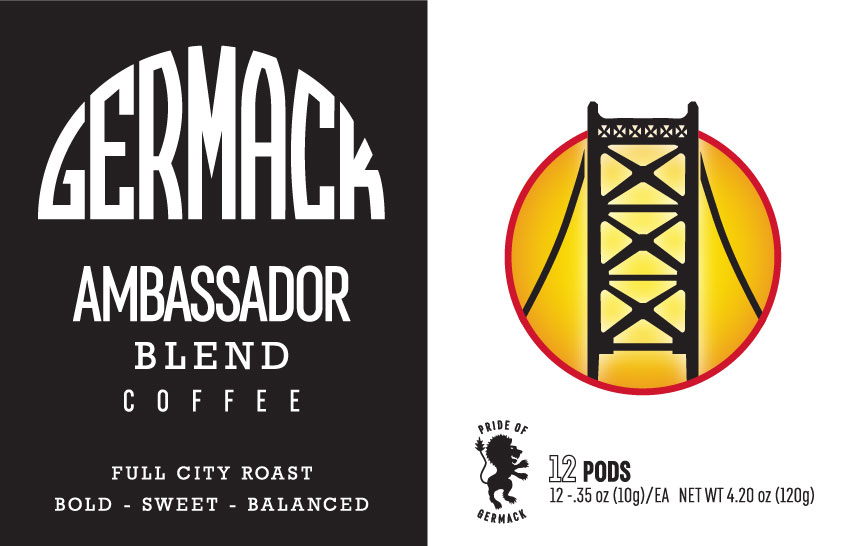 Germack Coffee K-Pods - Ambassador - (12 pack)