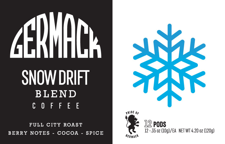 Germack Coffee K-Pods - Snow Drift - (12 pack)