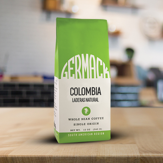 Germack Coffee (12 oz.) - Colombia Laderas Natural
