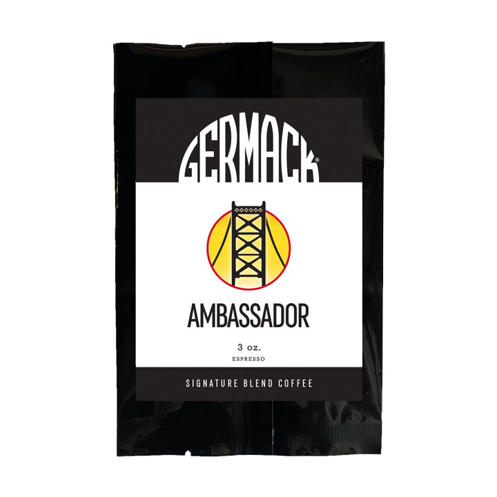 Germack Coffee - Ambassador - (12 (3 oz.) Bags / Case)