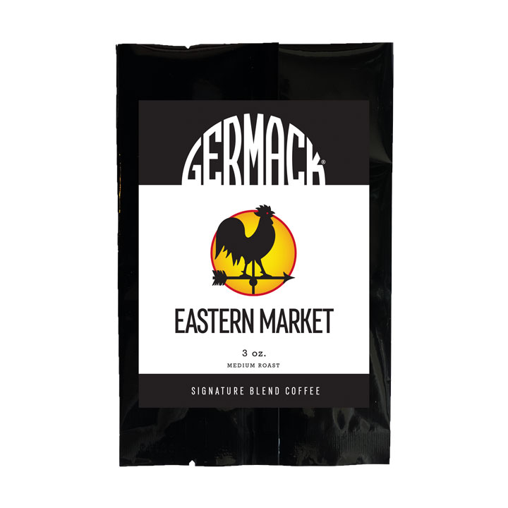 Germack Coffee - Eastern Market - (12 (3 oz.) Bags / Case)