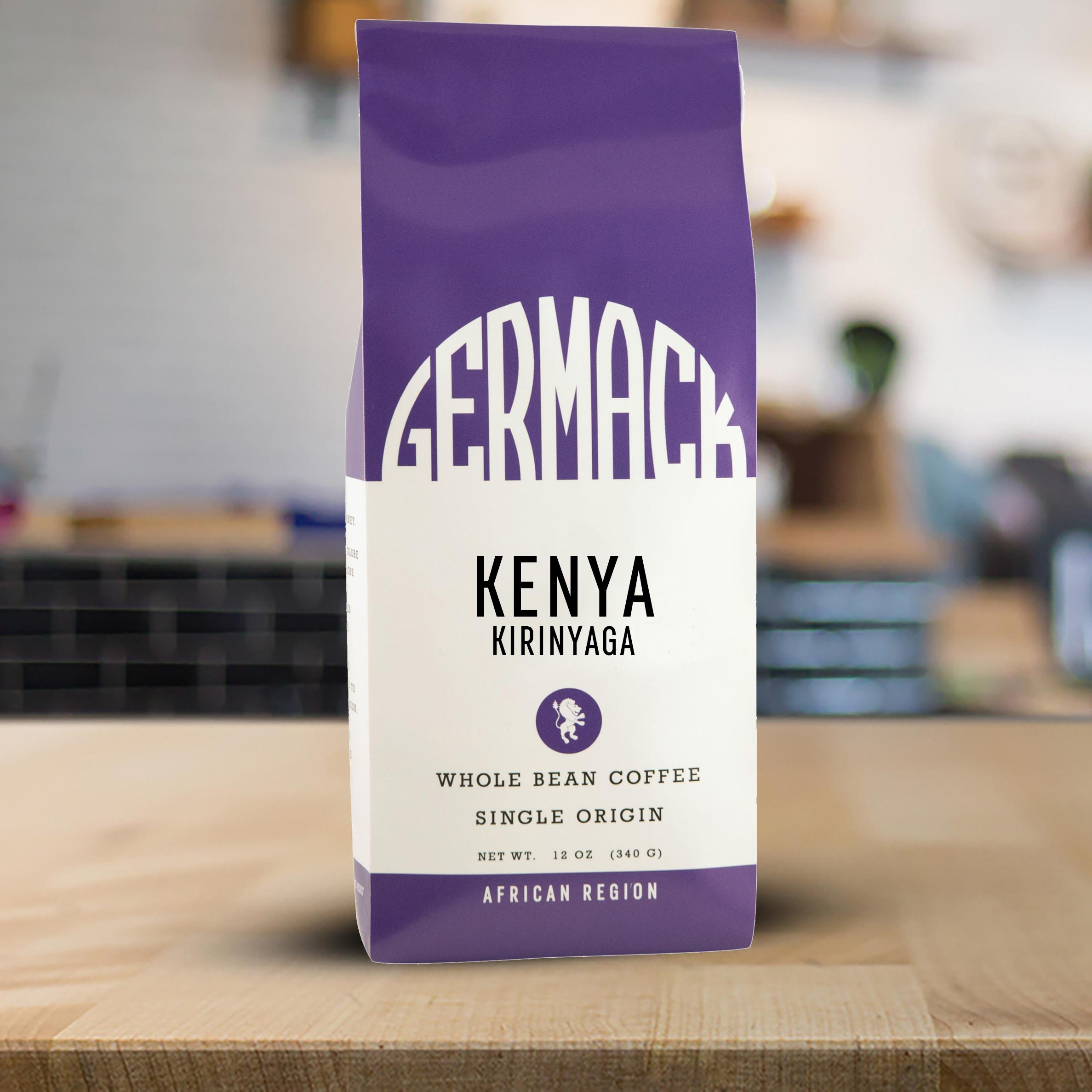 Germack Coffee Kenya Kirinyaga - 12 oz